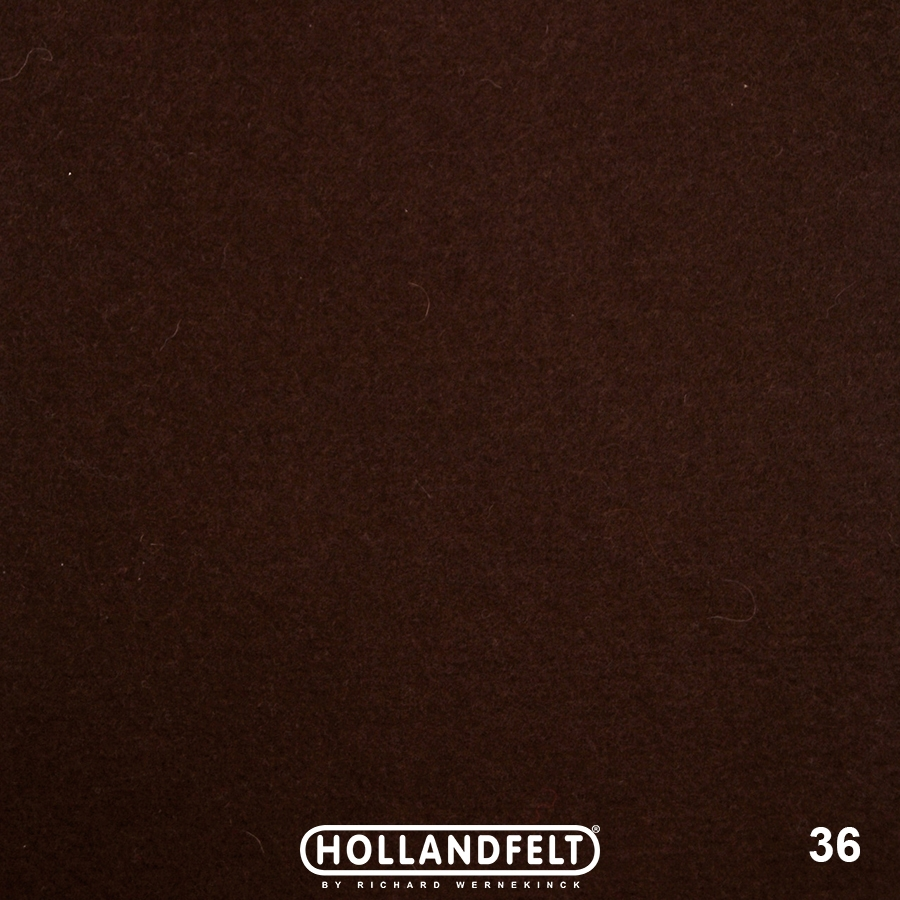 Wolvilt - wolvilt-36-chocolade-Hollandfelt-Outlet
