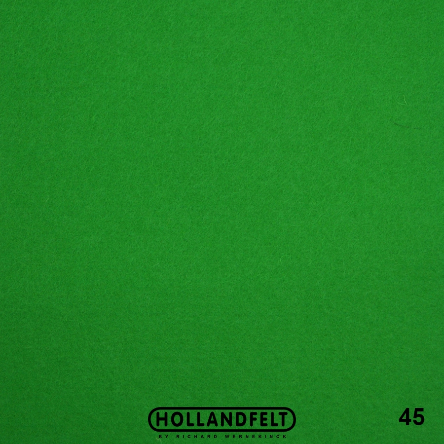 Wolvilt - wolvilt-45-groen-Hollandfelt-Outlet
