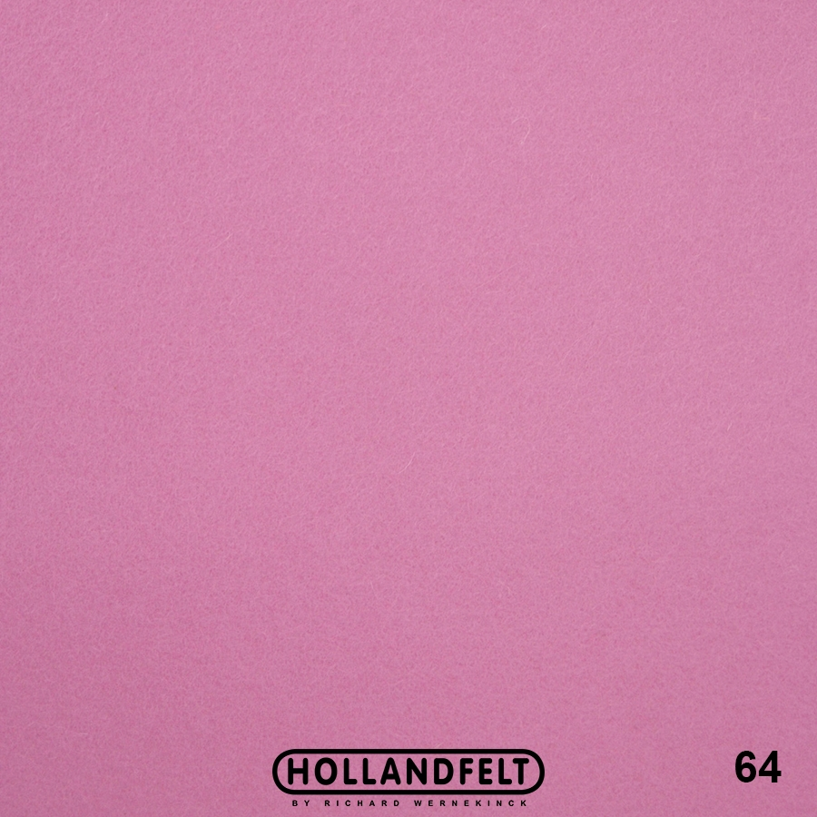 Wolvilt - wolvilt-64-roze-Hollandfelt-Outlet